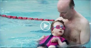 Swimming video